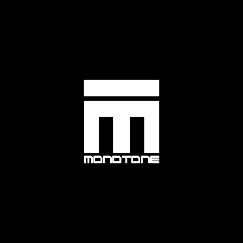 Monotone Logo White by Monotone Apparel