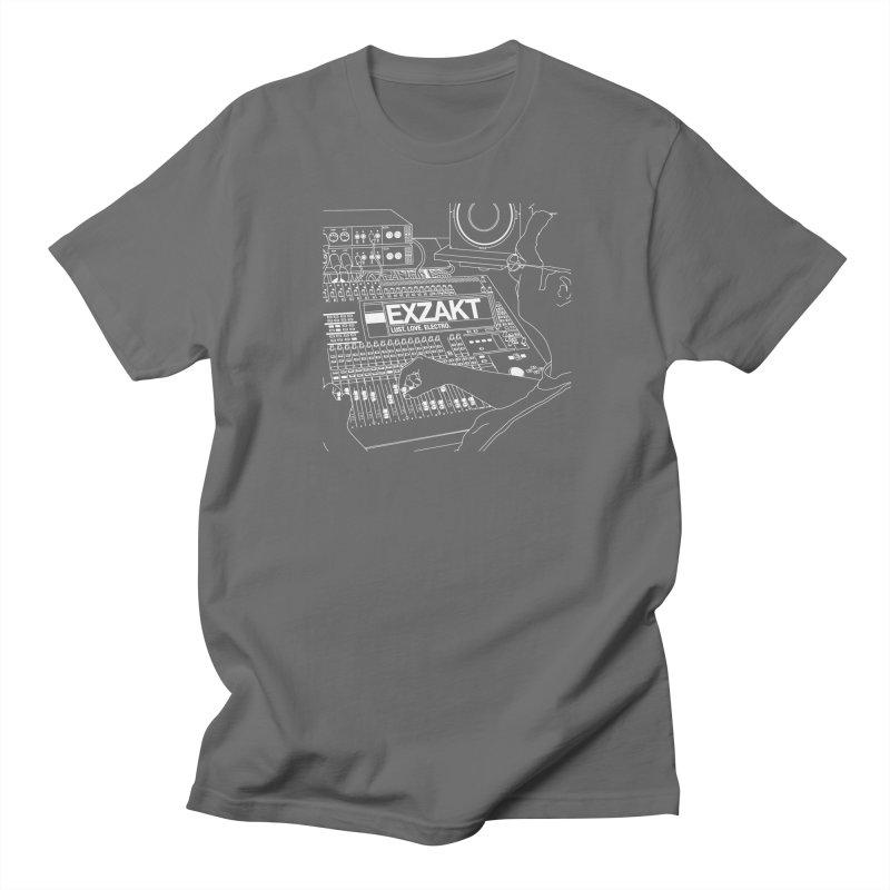 Lust Love Electro Men's T-Shirt by Monotone Apparel