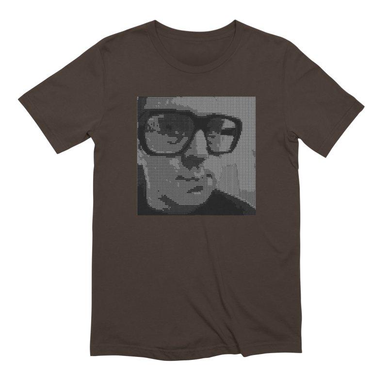 Ascii Art T-Shirt Men's T-Shirt by Monotrematic Shop