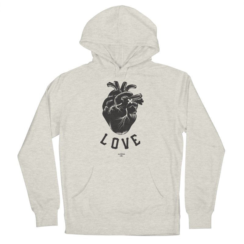 You are here - Love - Men's Pullover Hoody by MonsieurAlfred's Artist Shop