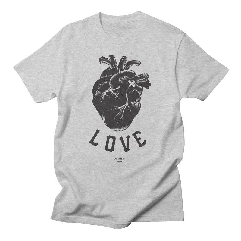 You are here - Love - Men's T-Shirt by MonsieurAlfred's Artist Shop