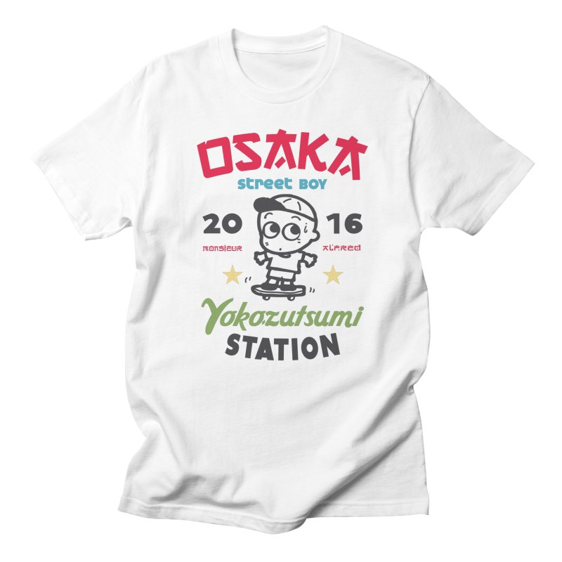 Osaka Men's T-Shirt by MonsieurAlfred's Artist Shop