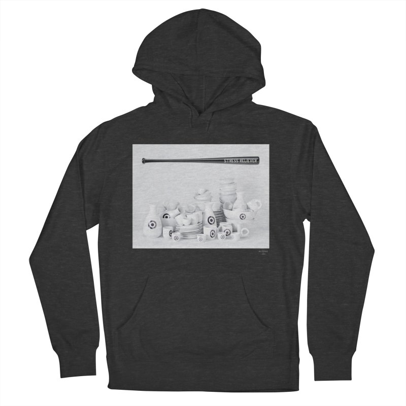 Stress Reliever Men's Pullover Hoody by MonsieurAlfred's Artist Shop