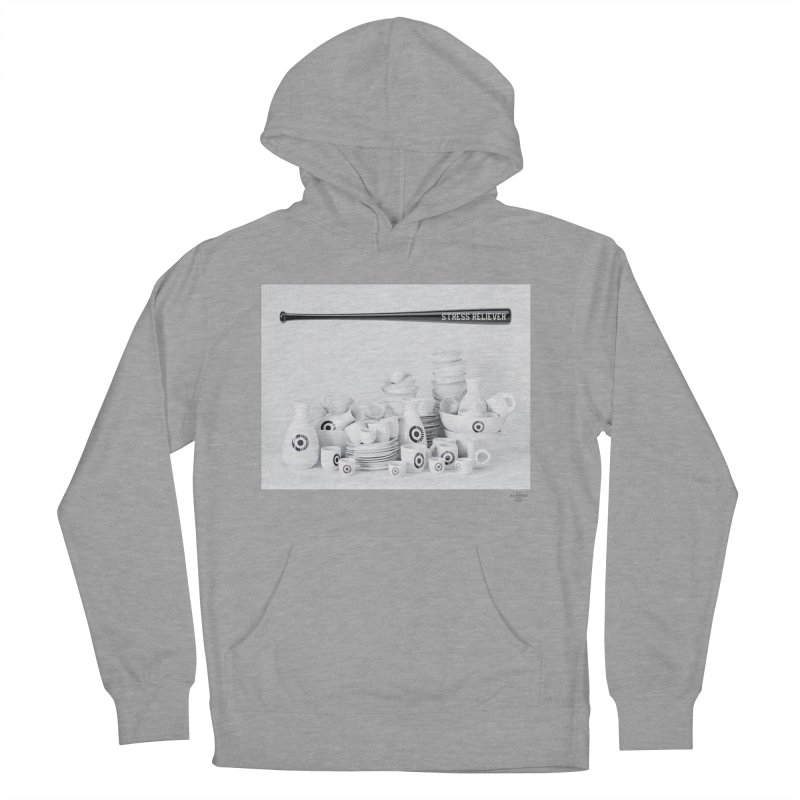 Stress Reliever Men's French Terry Pullover Hoody by MonsieurAlfred's Artist Shop