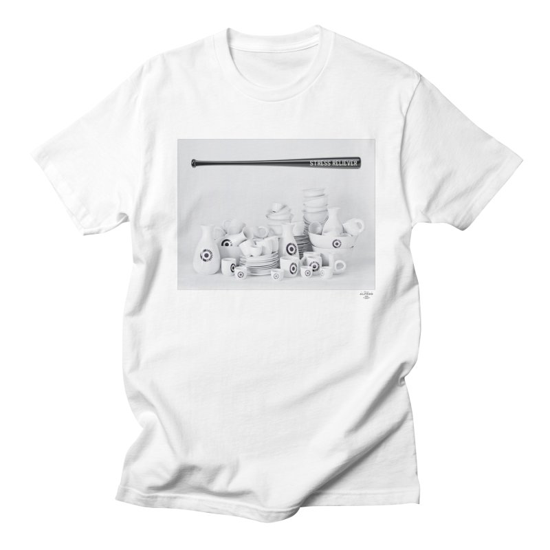 Stress Reliever Men's T-Shirt by MonsieurAlfred's Artist Shop