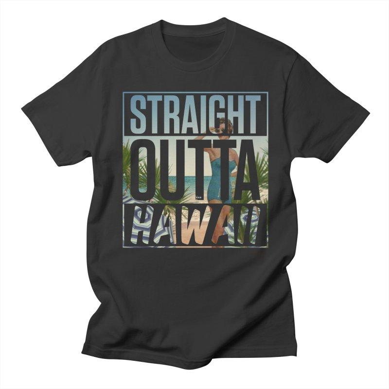 Straight Outta Hawaï Men's T-Shirt by MonsieurAlfred's Artist Shop
