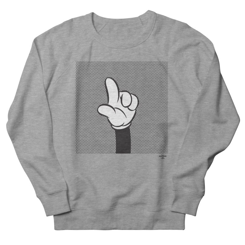 Up Men's French Terry Sweatshirt by MonsieurAlfred's Artist Shop