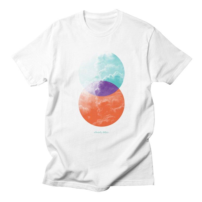 Cloudy bliss Men's Regular T-Shirt by MonsieurAlfred's Artist Shop