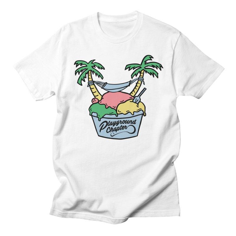 Island cup Men's T-Shirt by MonsieurAlfred's Artist Shop