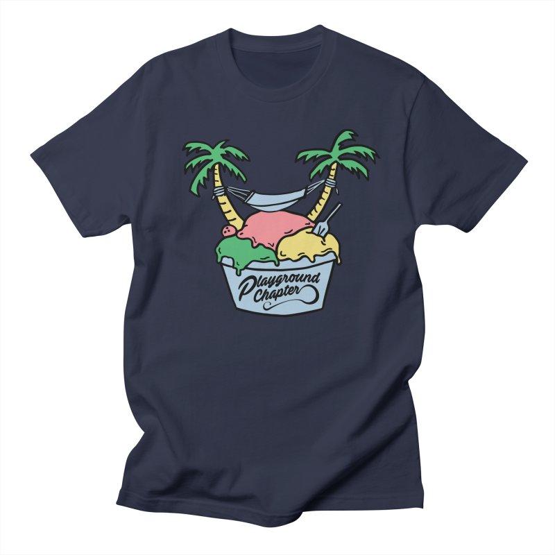 Island cup Men's Regular T-Shirt by MonsieurAlfred's Artist Shop
