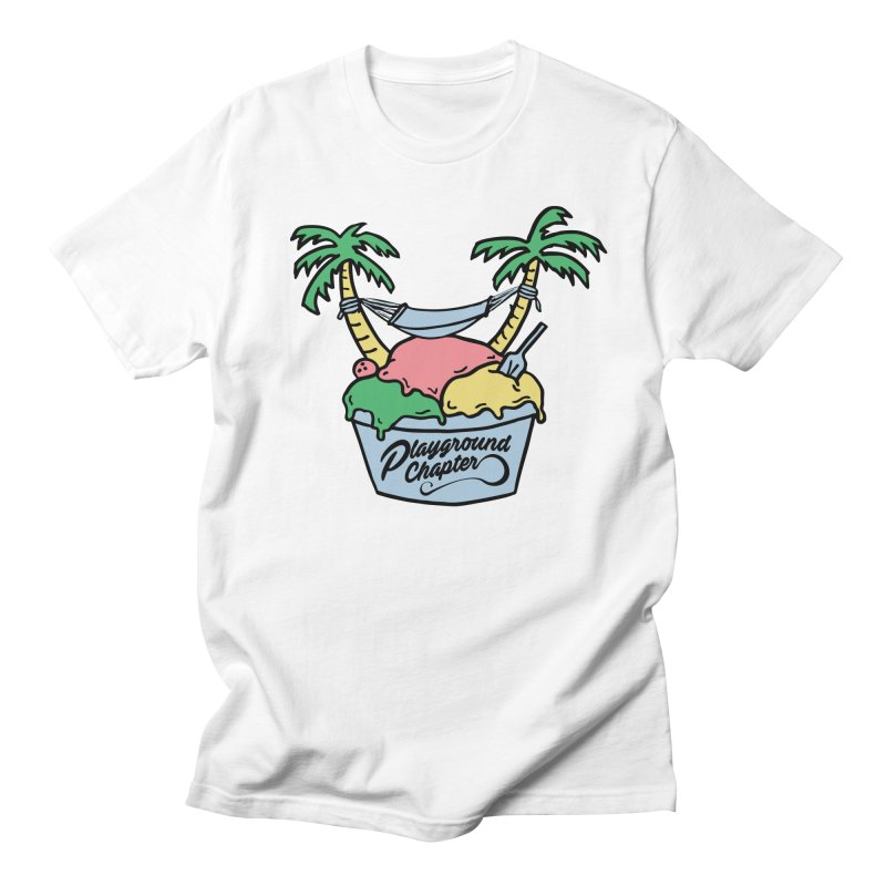 Island cup Men's T-Shirt by MonsieurAlfred's Artist Shop