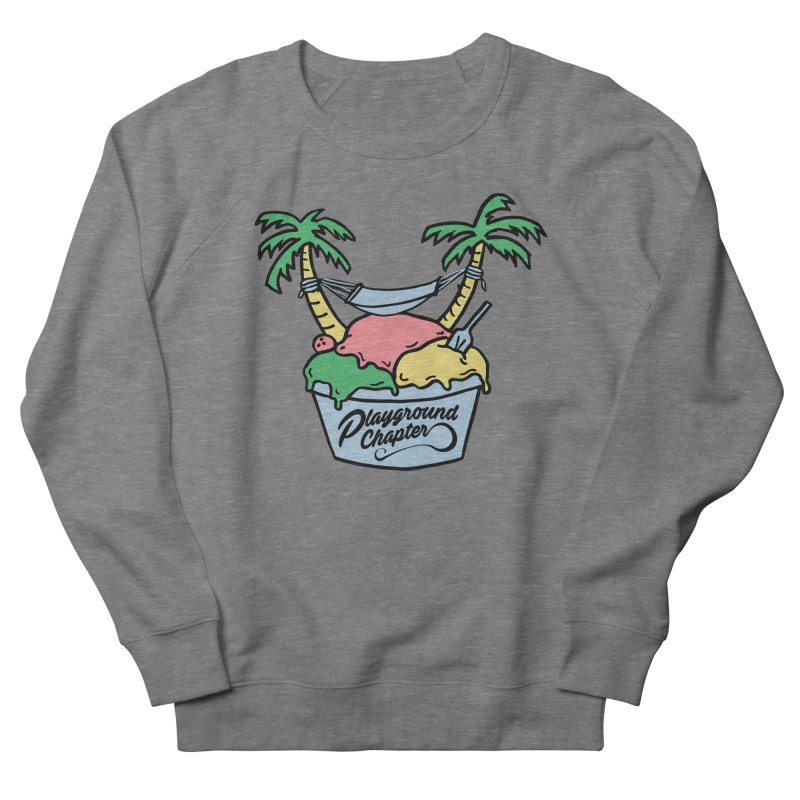 Island cup Women's Sweatshirt by MonsieurAlfred's Artist Shop