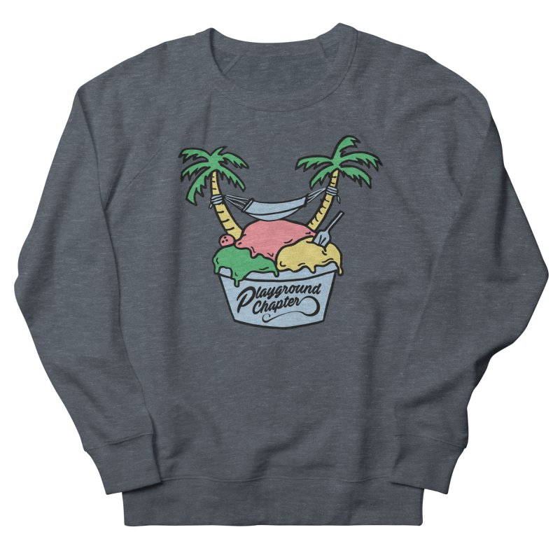 Island cup Men's French Terry Sweatshirt by MonsieurAlfred's Artist Shop