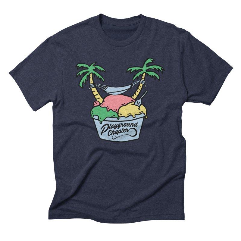 Island cup Men's Triblend T-Shirt by MonsieurAlfred's Artist Shop