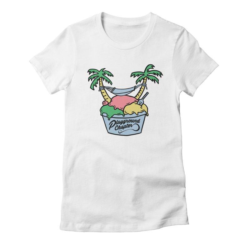 Island cup Women's T-Shirt by MonsieurAlfred's Artist Shop