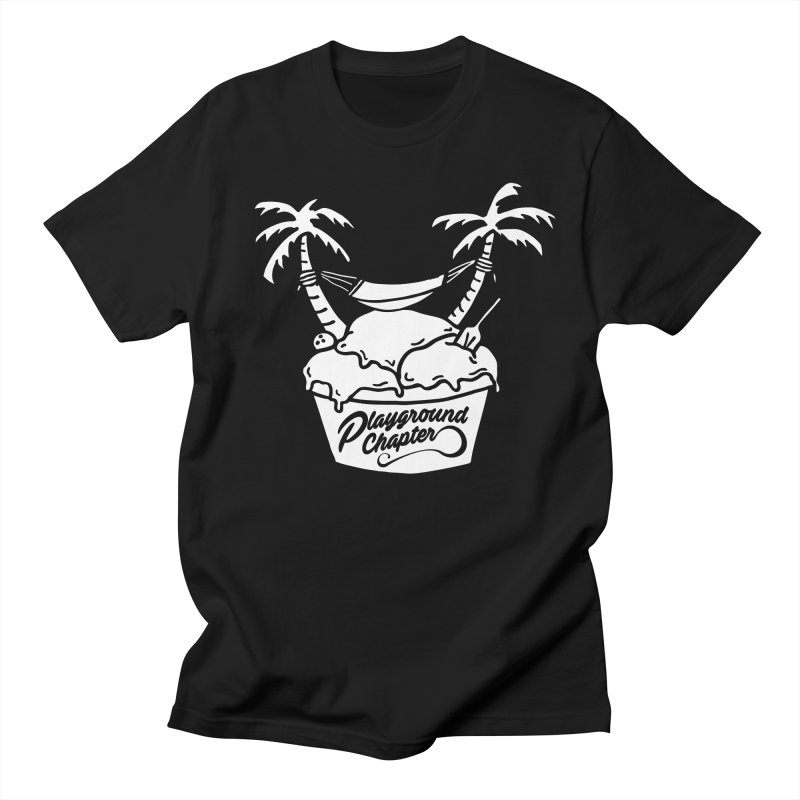 Island cup - white - Men's T-Shirt by MonsieurAlfred's Artist Shop