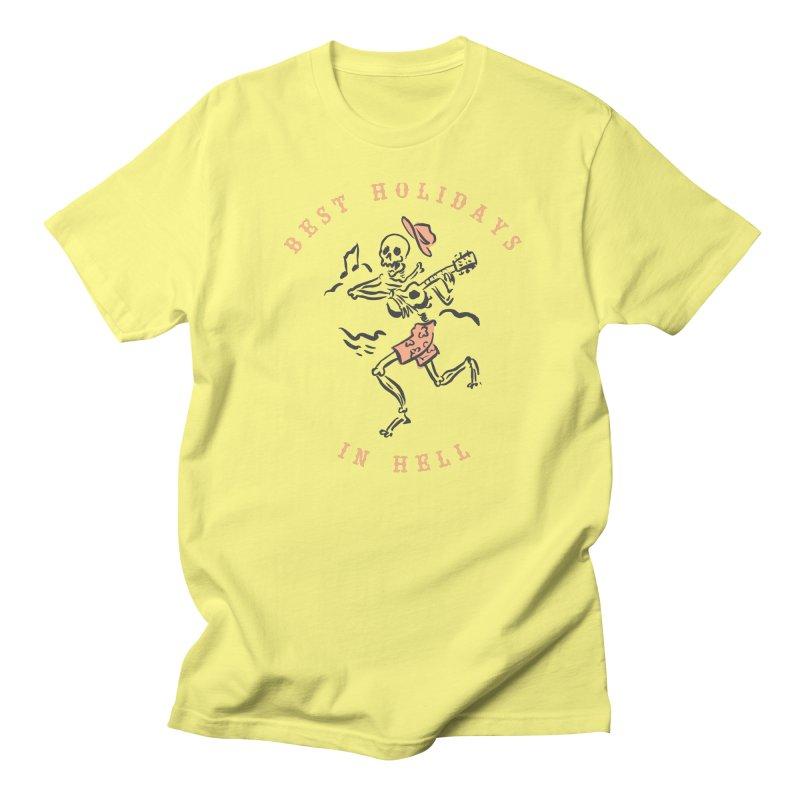 Best Holidays - bicolor Women's T-Shirt by MonsieurAlfred's Artist Shop