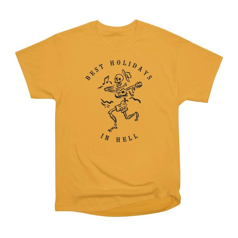 Best Holidays Men's Heavyweight T-Shirt by MonsieurAlfred's Artist Shop