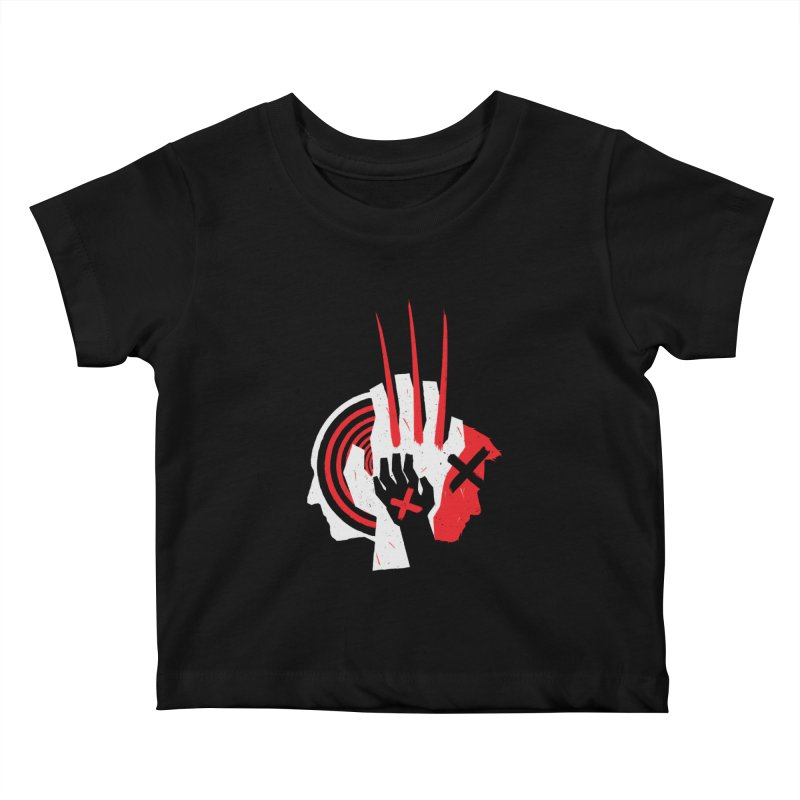 Old Snikt Kids Baby T-Shirt by monsieurgordon's Artist Shop
