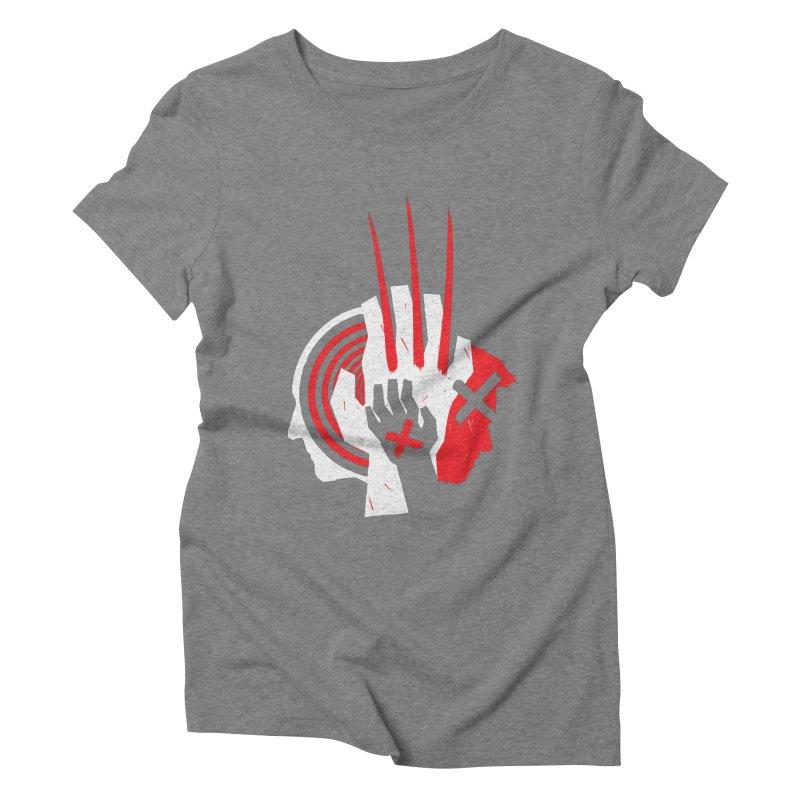 Old Snikt Women's Triblend T-Shirt by monsieurgordon's Artist Shop