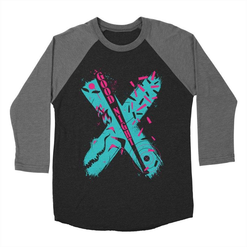 BATSHITCRAZY Men's Baseball Triblend T-Shirt by monsieurgordon's Artist Shop