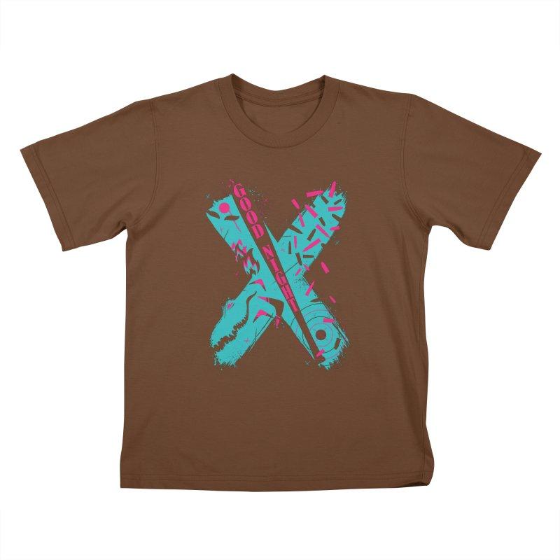 BATSHITCRAZY Kids T-shirt by monsieurgordon's Artist Shop