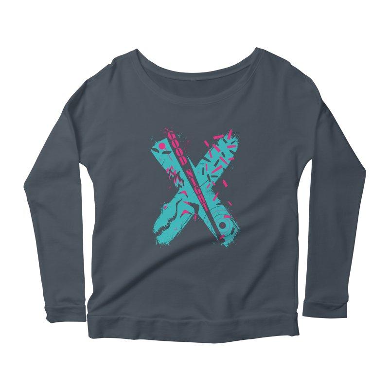 BATSHITCRAZY Women's Scoop Neck Longsleeve T-Shirt by monsieurgordon's Artist Shop