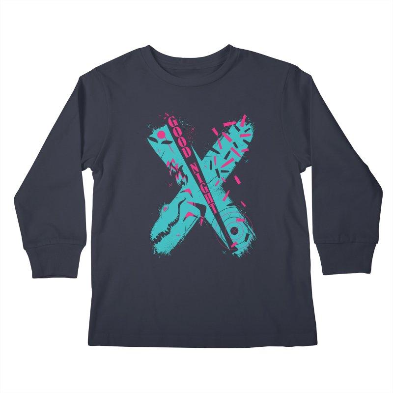BATSHITCRAZY Kids Longsleeve T-Shirt by monsieurgordon's Artist Shop
