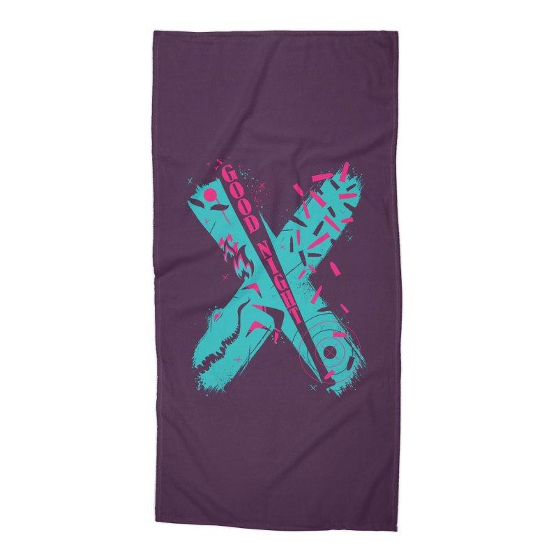 BATSHITCRAZY Accessories Beach Towel by monsieurgordon's Artist Shop