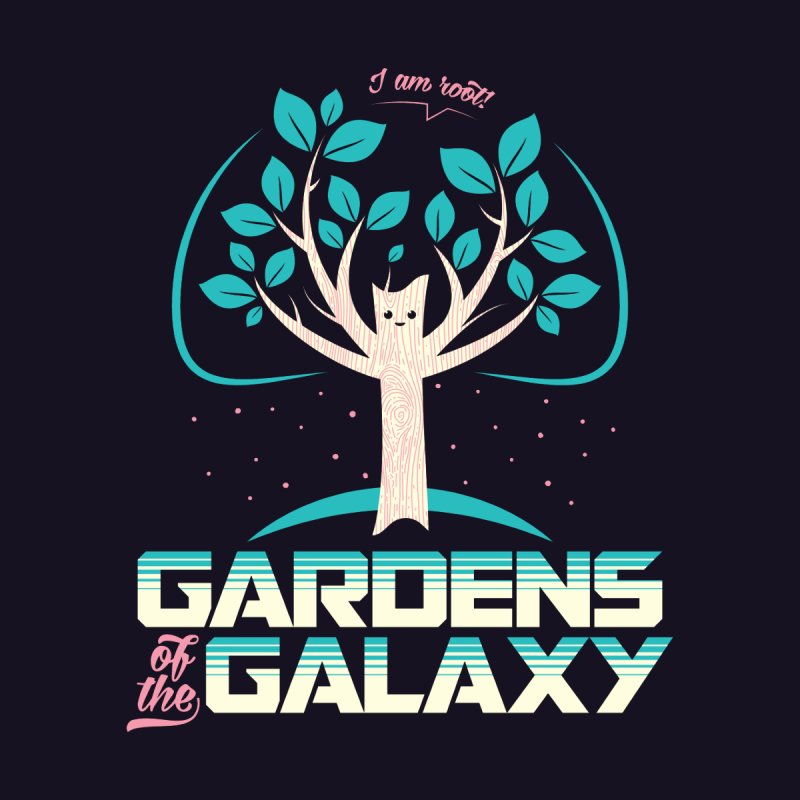 Gardens Of The Galaxy None  by monsieurgordon's Artist Shop