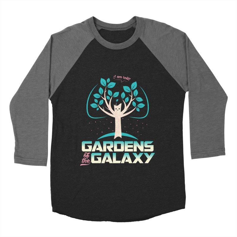Gardens Of The Galaxy Men's Baseball Triblend Longsleeve T-Shirt by monsieurgordon's Artist Shop
