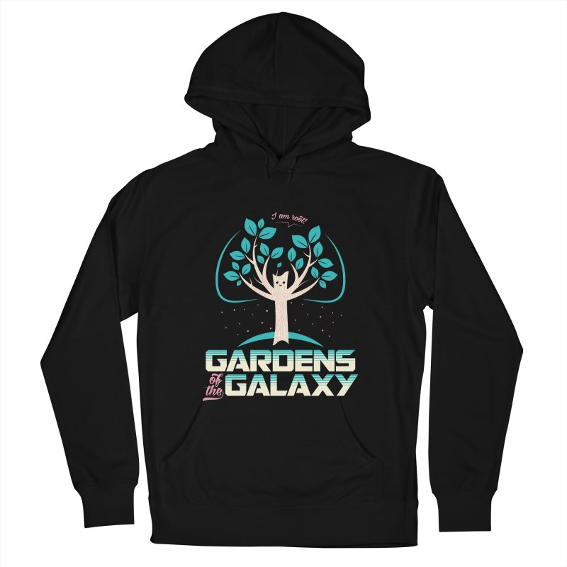 Gardens Of The Galaxy Women's French Terry Pullover Hoody by monsieurgordon's Artist Shop