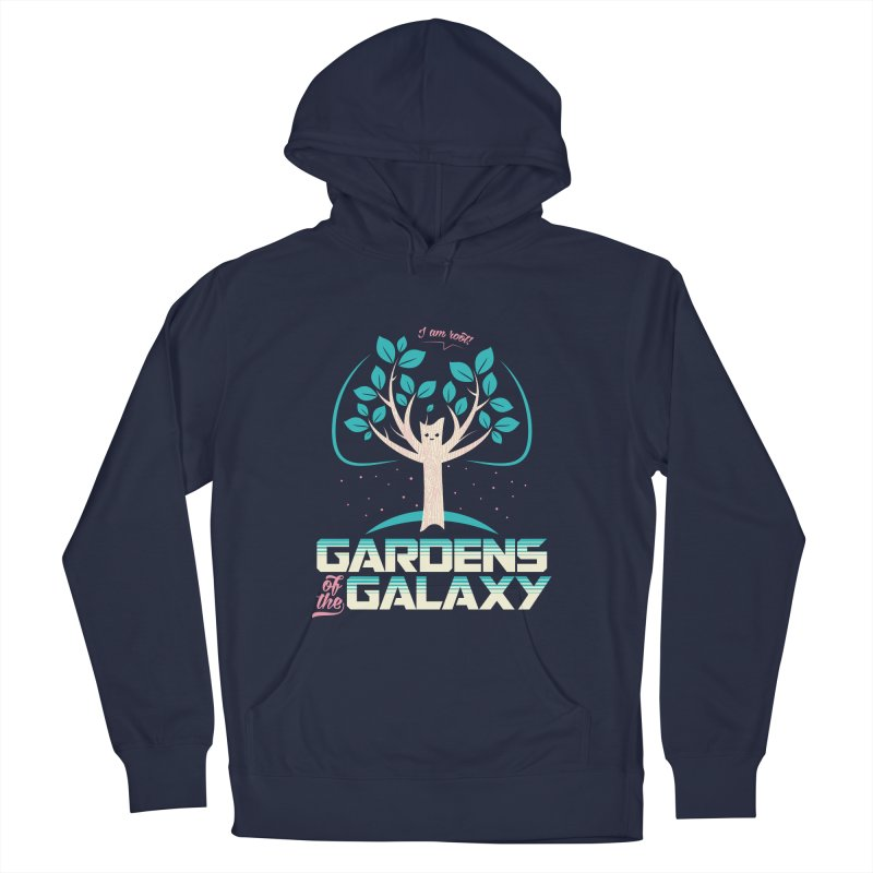 Gardens Of The Galaxy Men's French Terry Pullover Hoody by monsieurgordon's Artist Shop