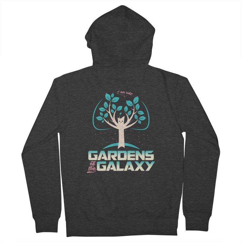 Gardens Of The Galaxy Men's Zip-Up Hoody by monsieurgordon's Artist Shop