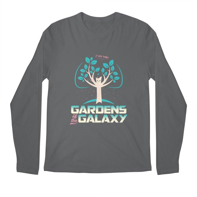Gardens Of The Galaxy Men's Regular Longsleeve T-Shirt by monsieurgordon's Artist Shop