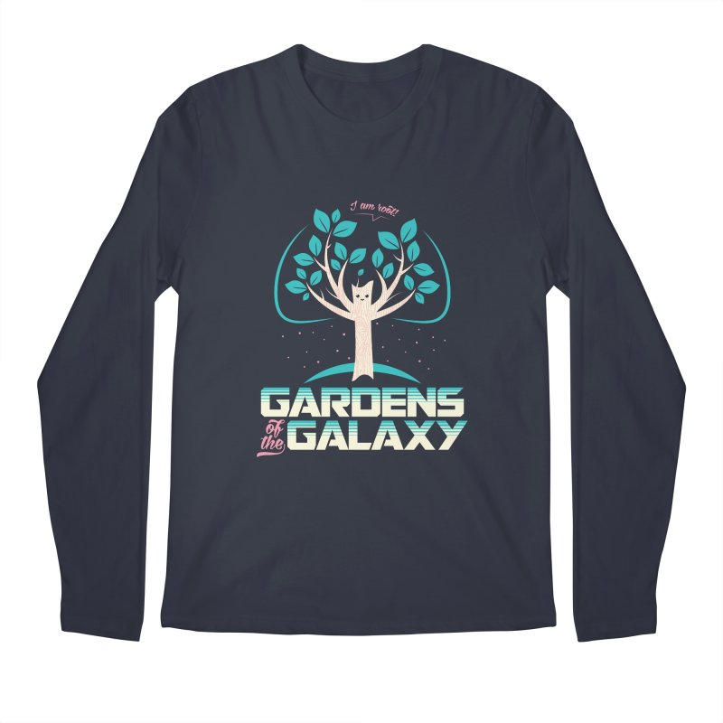 Gardens Of The Galaxy Men's Regular Longsleeve T-Shirt by monsieurgordon's Artist Shop