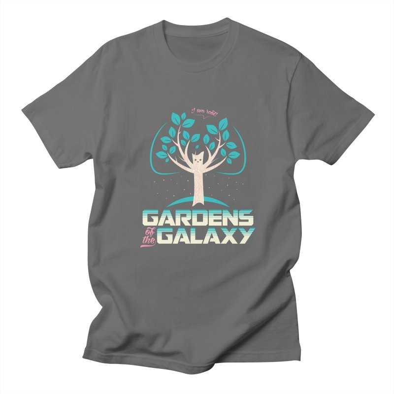 Gardens Of The Galaxy Men's Regular T-Shirt by monsieurgordon's Artist Shop