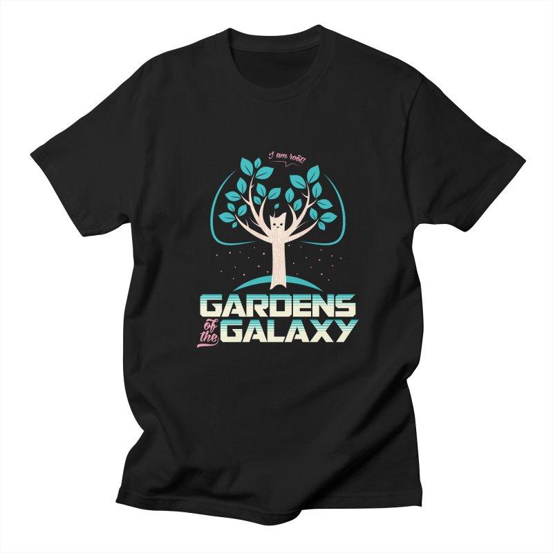 Gardens Of The Galaxy Men's Regular T-Shirt by monsieurgordon's Artist Shop