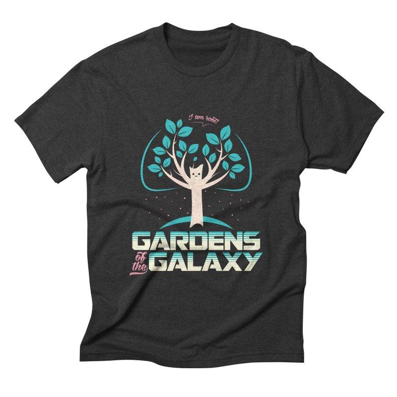 Gardens Of The Galaxy Men's Triblend T-shirt by monsieurgordon's Artist Shop