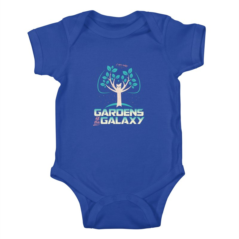 Gardens Of The Galaxy Kids Baby Bodysuit by monsieurgordon's Artist Shop