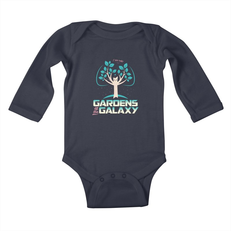 Gardens Of The Galaxy Kids Baby Longsleeve Bodysuit by monsieurgordon's Artist Shop