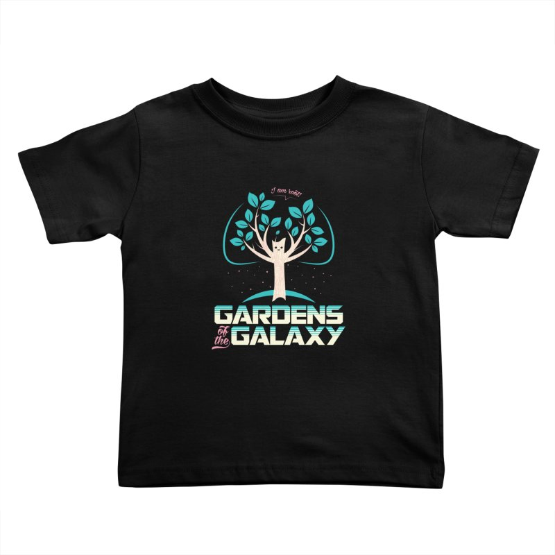 Gardens Of The Galaxy Kids Toddler T-Shirt by monsieurgordon's Artist Shop