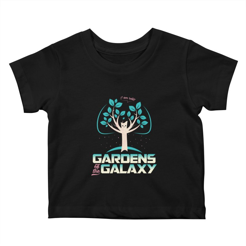 Gardens Of The Galaxy Kids Baby T-Shirt by monsieurgordon's Artist Shop