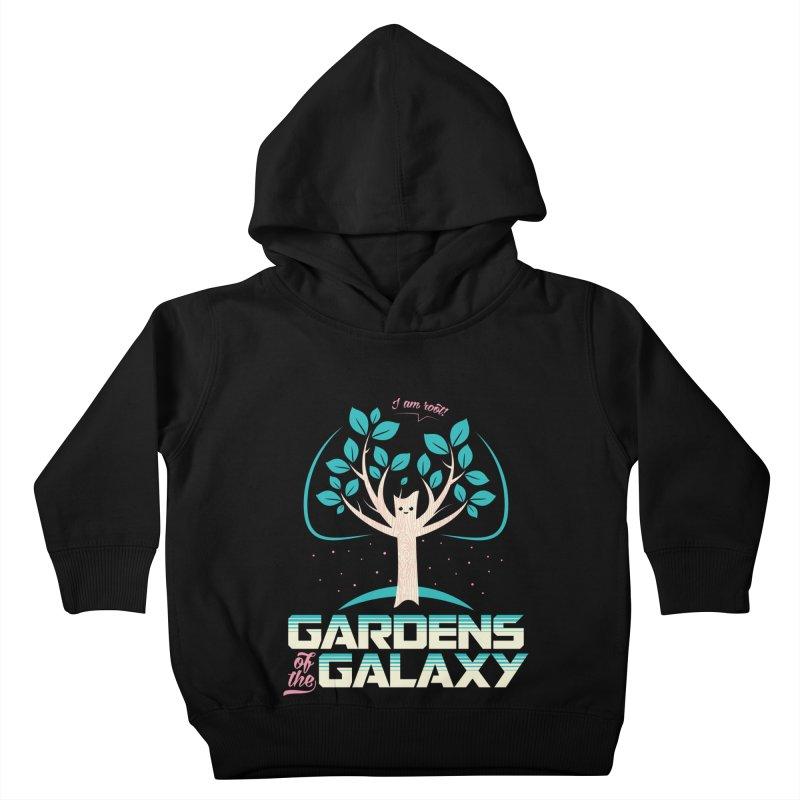 Gardens Of The Galaxy Kids Toddler Pullover Hoody by monsieurgordon's Artist Shop