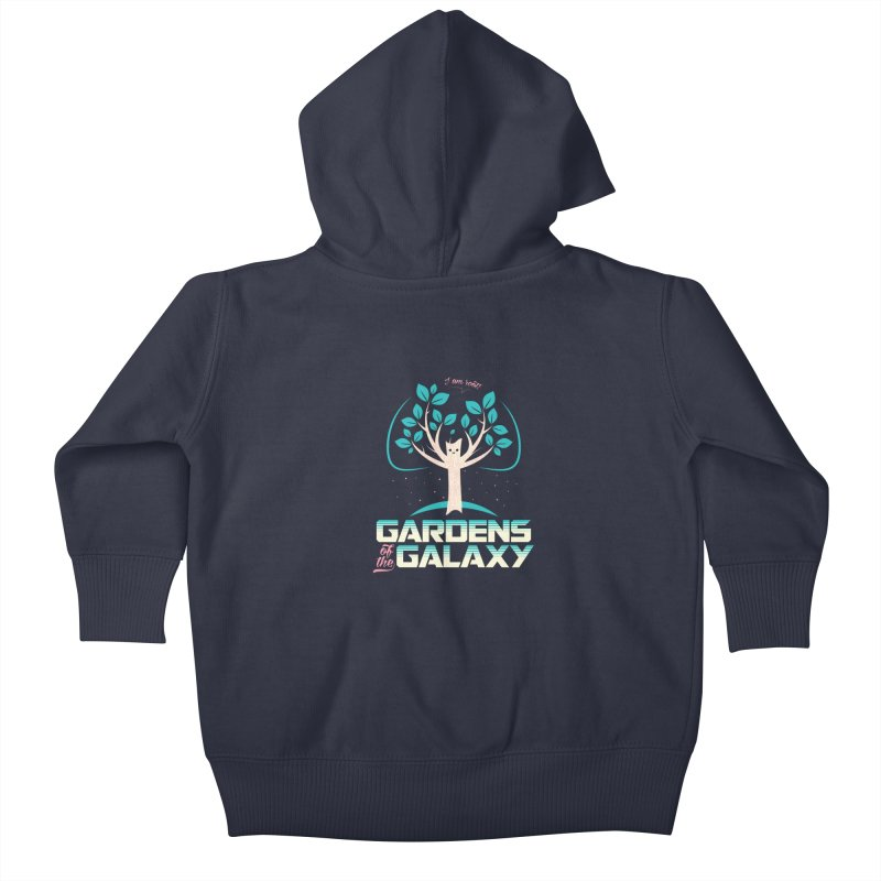 Gardens Of The Galaxy Kids Baby Zip-Up Hoody by monsieurgordon's Artist Shop