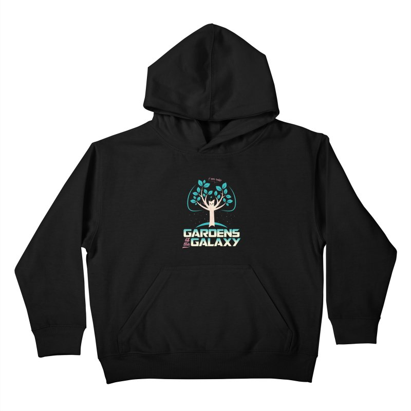 Gardens Of The Galaxy Kids Pullover Hoody by monsieurgordon's Artist Shop