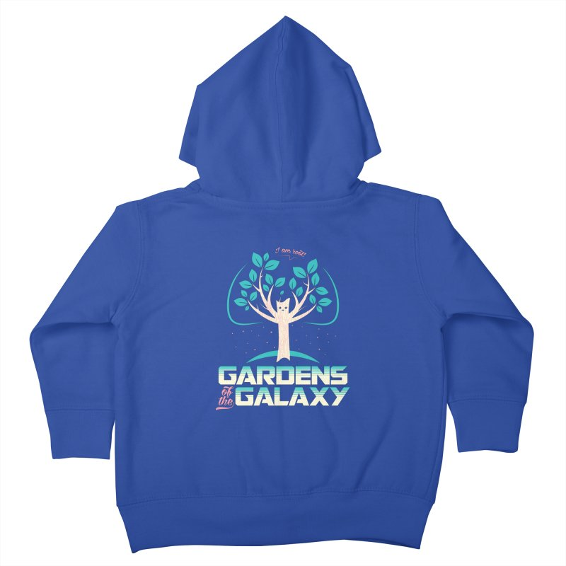 Gardens Of The Galaxy Kids Toddler Zip-Up Hoody by monsieurgordon's Artist Shop