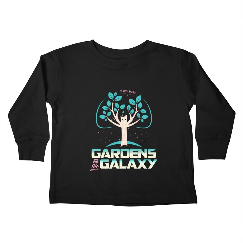 Gardens Of The Galaxy Kids Toddler Longsleeve T-Shirt by monsieurgordon's Artist Shop