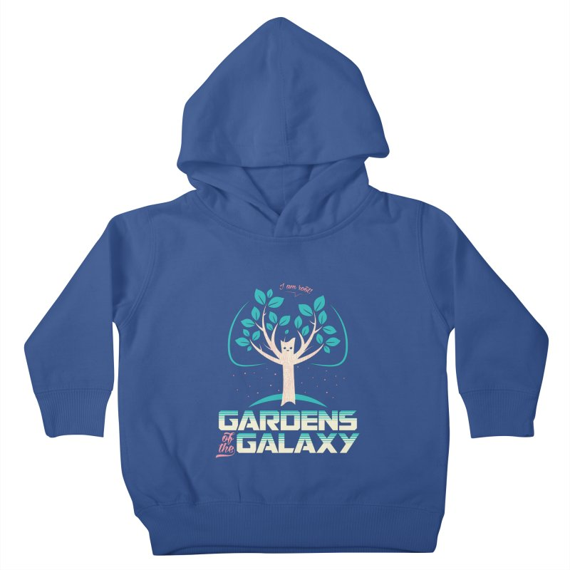 Gardens Of The Galaxy Kids Toddler Pullover Hoody by monsieurgordon's Artist Shop
