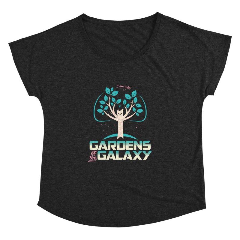 Gardens Of The Galaxy Women's Dolman Scoop Neck by monsieurgordon's Artist Shop